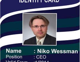 #49 for Design a company ID card by Zakaria099