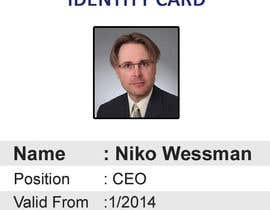 #51 for Design a company ID card by Zakaria099