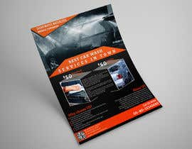 Nro 16 kilpailuun Design a Flyer for Car Interior Leather Restoration and Fabric Cleaning käyttäjältä GetMeHire