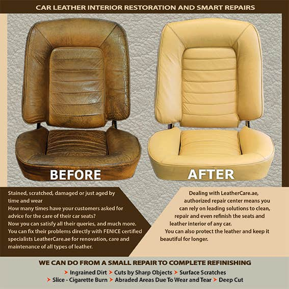 Proposition n°                                        17                                      du concours                                         Design a Flyer for Car Interior Leather Restoration and Fabric Cleaning