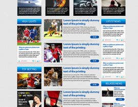 #13 for Design a sportsbetting website by himel302