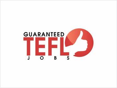 Nro 45 kilpailuun Design a Logo for guaranteed TEFL jobs käyttäjältä adrianusdenny