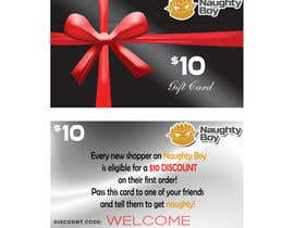 #16 for Design a $10 Gift Card for an Adult Store by jeicee17
