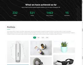 nº 100 pour Website Design for a company page par miladul35