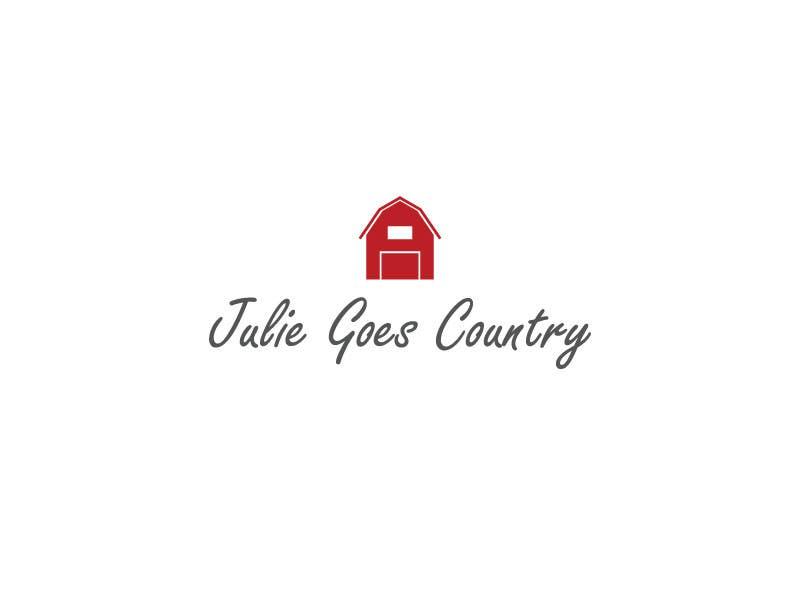 Konkurrenceindlæg #                                        93                                      for                                         Design a Logo for Julie Goes Country