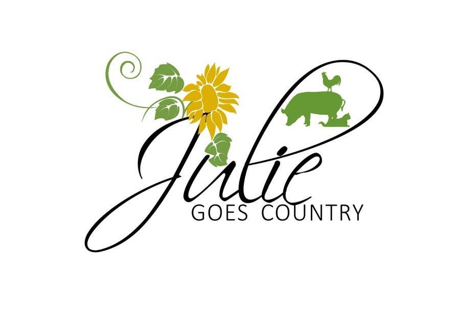 Konkurrenceindlæg #                                        19                                      for                                         Design a Logo for Julie Goes Country