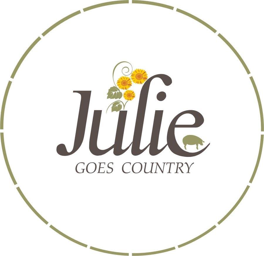 Konkurrenceindlæg #                                        61                                      for                                         Design a Logo for Julie Goes Country