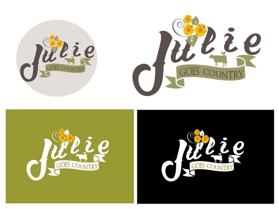 Konkurrenceindlæg #                                        82                                      for                                         Design a Logo for Julie Goes Country