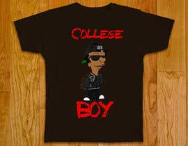 "#11 cho Design a T-Shirt for ""College Boy"" bởi mohammadsalah95"