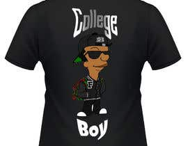 "#10 cho Design a T-Shirt for ""College Boy"" bởi Syafiqjos"