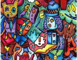nº 14 pour Artist to Color Illustration for Coloring Book Cover par LenisMar