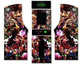 #27 untuk We need graphics skin design for arcade machine (pop art)-MUST BE ORIGINAL oleh engielgamal82