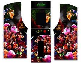 #29 untuk We need graphics skin design for arcade machine (pop art)-MUST BE ORIGINAL oleh engielgamal82