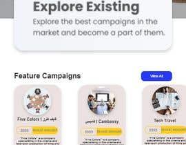 #43 for Make UI/UX design for my website and application af elora2000