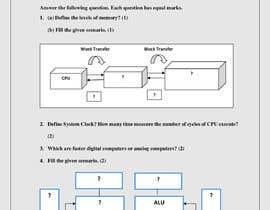 Nro 77 kilpailuun Retype, PDF into Word käyttäjältä alishbaijaz415