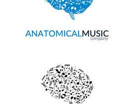 #173 for Design a Logo for Anatomical Music Company af ccakir