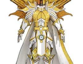 #78 untuk 2d design of an armour for gaming oleh Vauxid