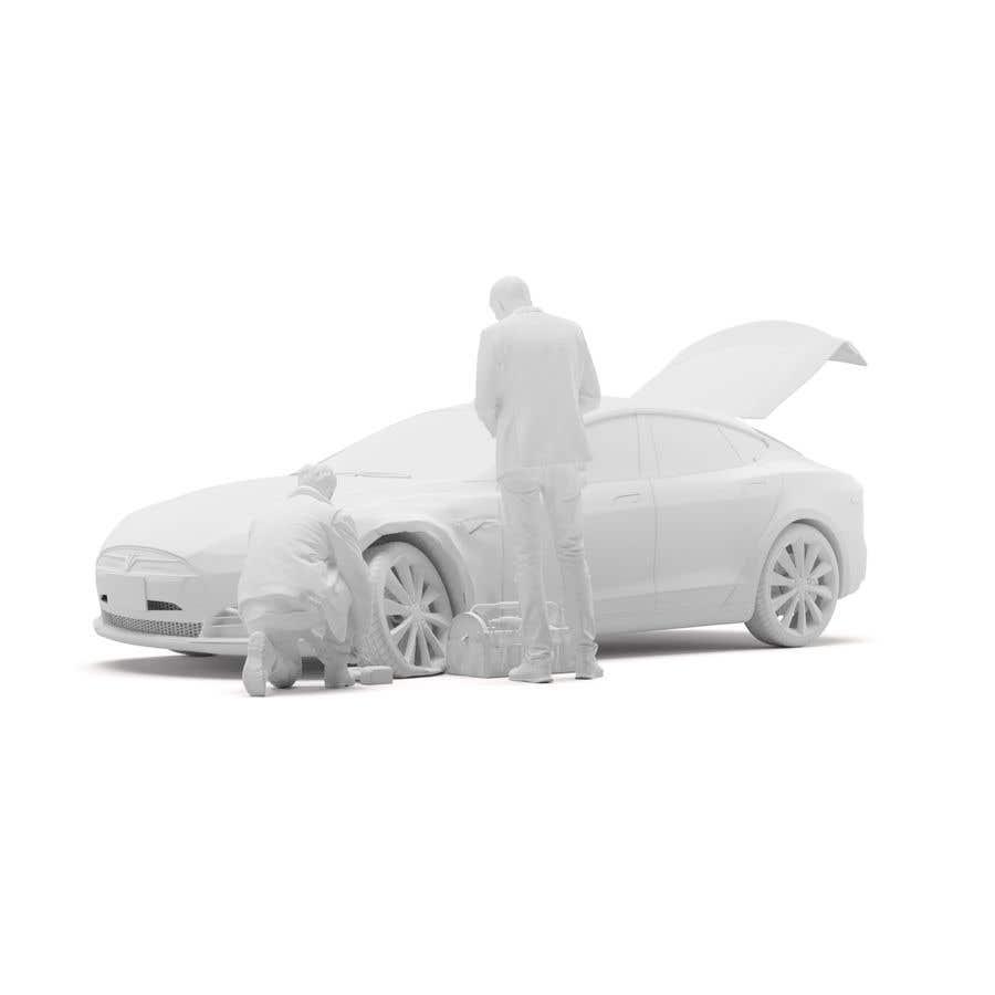 Proposition n°                                        27                                      du concours                                         3d white auto body damage
