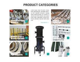 nº 9 pour Build a mockup for new website homepage par carmelomarquises