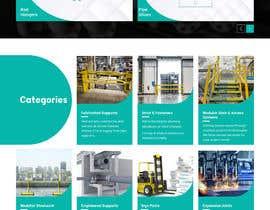 nº 45 pour Build a mockup for new website homepage par saidesigner87