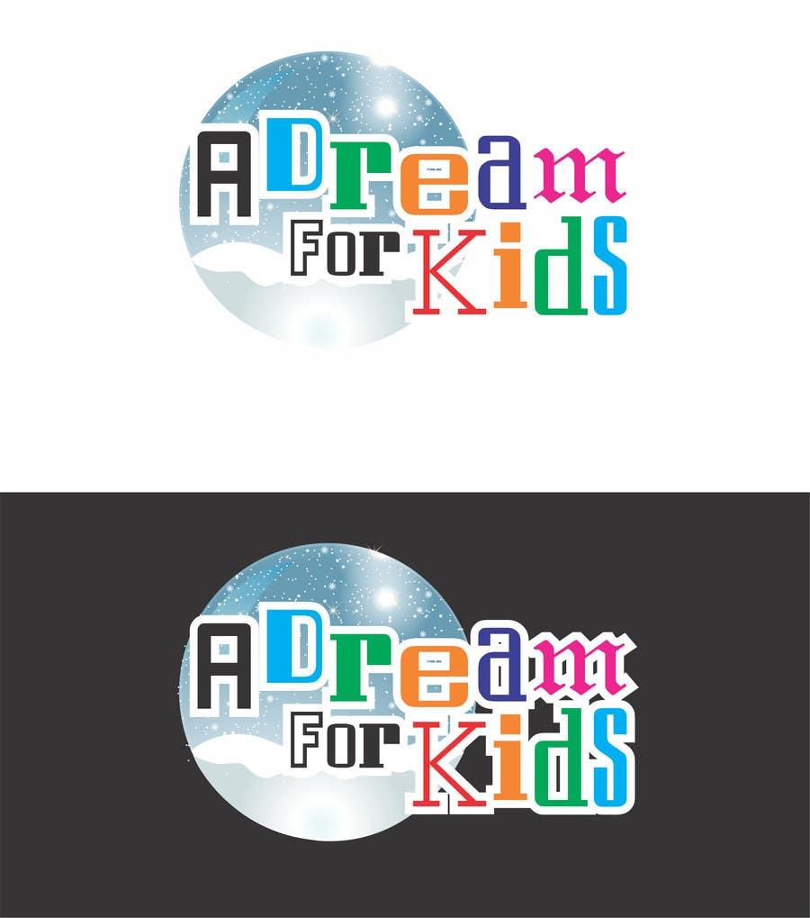 Penyertaan Peraduan #9 untuk Design a Logo for A Dream For Kids