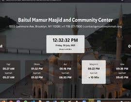 Číslo 22 pro uživatele Design a digital notice board for displaying in Mosque od uživatele diprahman05