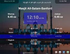Číslo 21 pro uživatele Design a digital notice board for displaying in Mosque od uživatele Hemram000