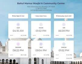 Číslo 3 pro uživatele Design a digital notice board for displaying in Mosque od uživatele bayuindraw
