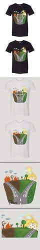 Kilpailutyön #                                                15                                              pienoiskuva kilpailussa                                                 T shirt art creation!