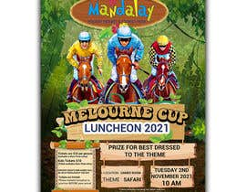 #129 for Melbourne Cup Luncheon Flyer 2021 by israfilbsj