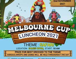 #158 for Melbourne Cup Luncheon Flyer 2021 by israfilbsj