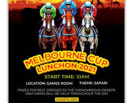 #160 for Melbourne Cup Luncheon Flyer 2021 by zainal917