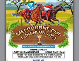#148 for Melbourne Cup Luncheon Flyer 2021 by jahidsetu2020