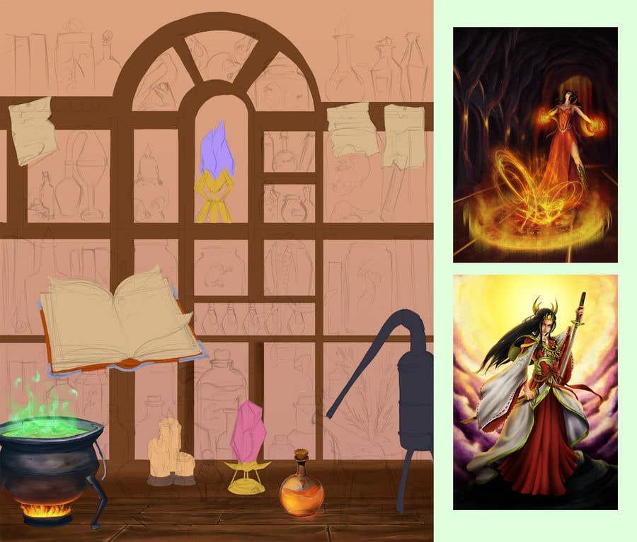 Penyertaan Peraduan #                                        23                                      untuk                                         Digital Illustration - Fantasy art