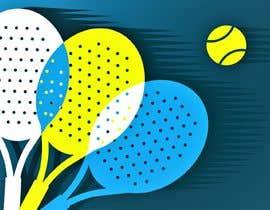 Nro 162 kilpailuun Paddle  tennis mural käyttäjältä areejjamal