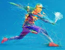 Nro 141 kilpailuun Paddle  tennis mural käyttäjältä MaheshNagdive