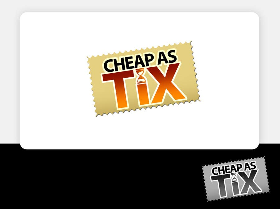 Inscrição nº                                         127                                      do Concurso para                                         Logo Design for Cheap As TIX