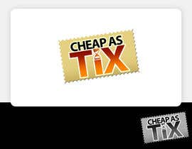 #127 para Logo Design for Cheap As TIX de pinky