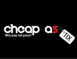 #119 untuk Logo Design for Cheap As TIX oleh spikeboy