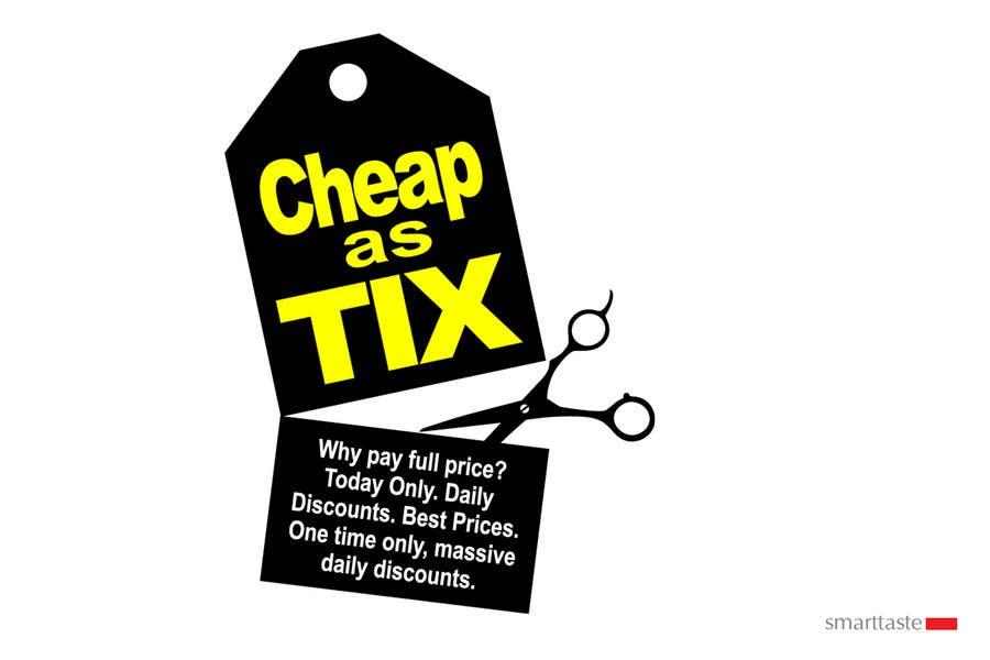 Inscrição nº                                         15                                      do Concurso para                                         Logo Design for Cheap As TIX