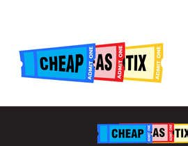 #116 for Logo Design for Cheap As TIX by pupster321