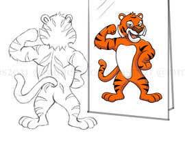 nº 10 pour Turn the tiger around par ramjeevacartoons