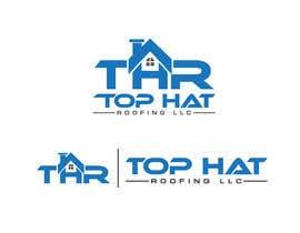 Logoexpertmamun tarafından Top Hat Roofing LLC company logo design için no 835