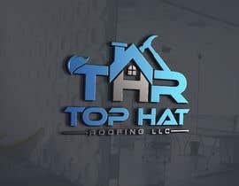 Logoexpertmamun tarafından Top Hat Roofing LLC company logo design için no 1101