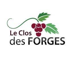 #69 for LOGO Design with vineyard or anvils : Le Clos des Forges af sudiptaganguly