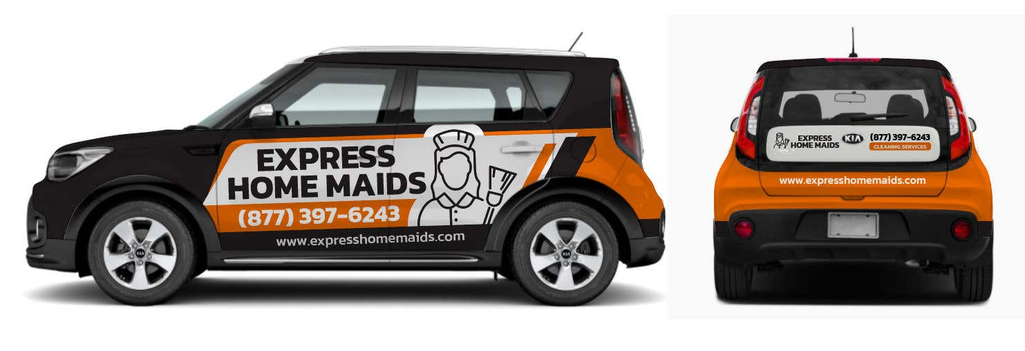 Proposition n°                                        77                                      du concours                                         CAR WRAP DESIGN CONTEST FOR HOUSE CLEANING COMPANY