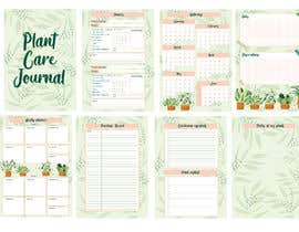#5 for Design format for plant care journal/diary af tiaciasingh