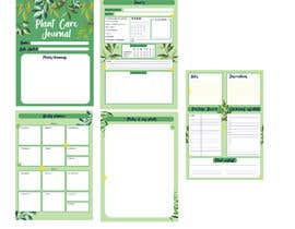 #10 for Design format for plant care journal/diary af tiaciasingh