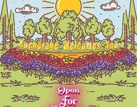 #64 untuk Create a Poster for my design concept - open for business - Anchorage Welcomes You oleh Hazemwaly1981