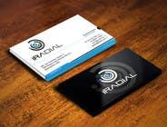 Design some Business Cards for iRadial için Graphic Design74 No.lu Yarışma Girdisi